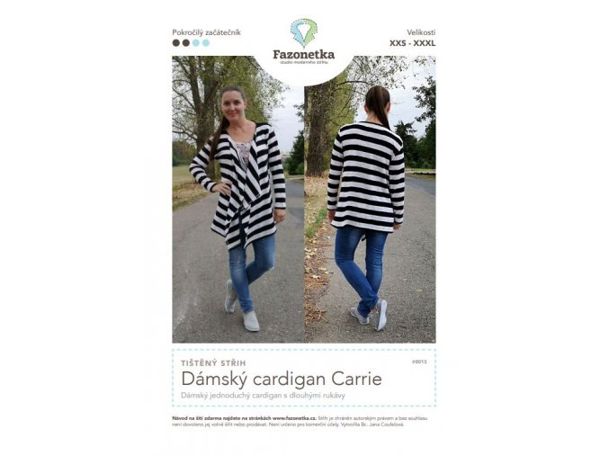 cardigan carrie