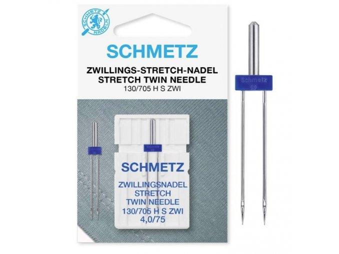 519 DVOJJEHLA Schmetz 705 H ZWI STRETCH 754,0