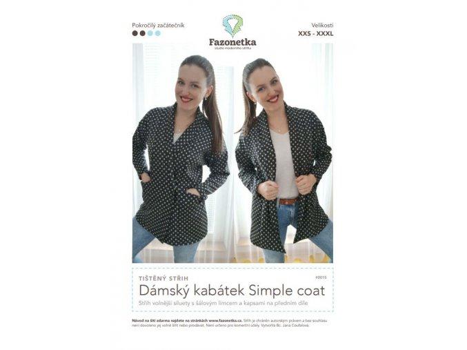 kabátek Simple coat