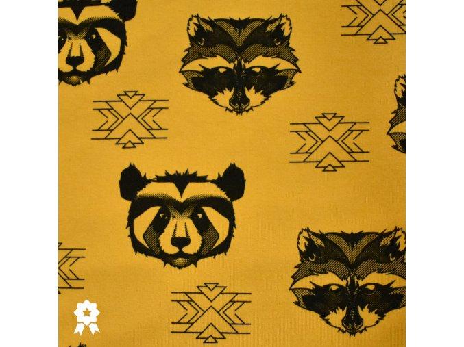 913 Panda&Mýval na okrové