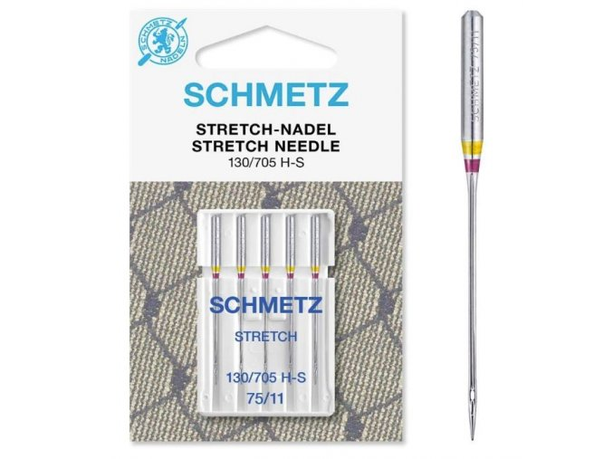 97 Jehly Schmetz strojové 705 H STRETCH 75