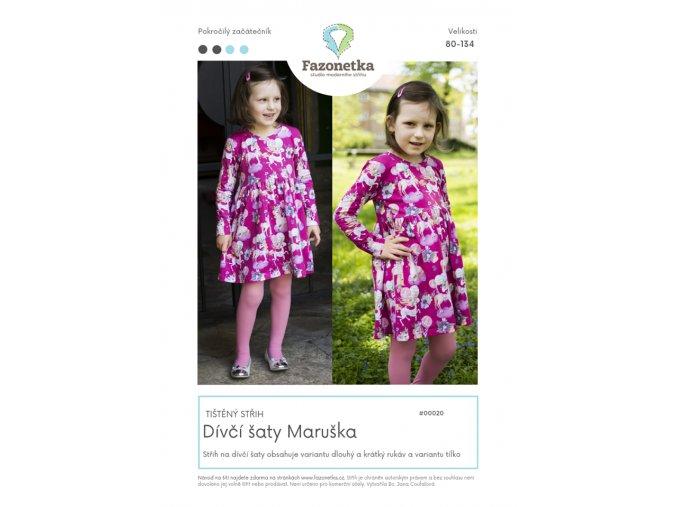 šaty Maruška fazonetka