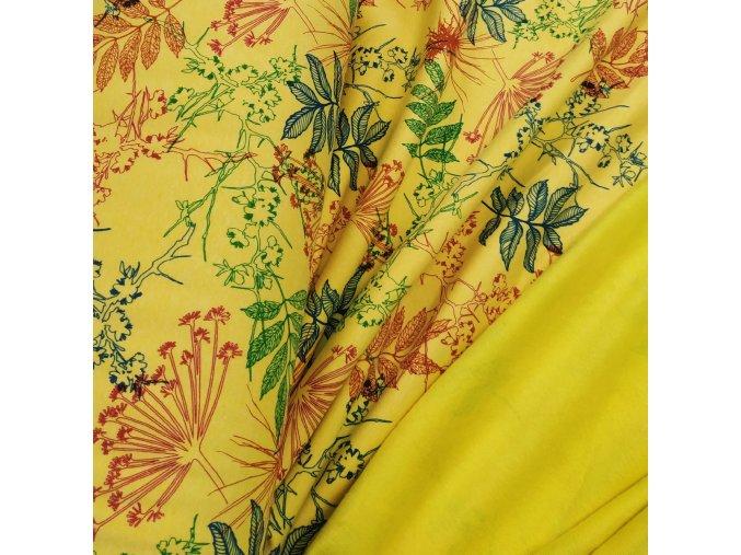 Warmkeeper - Flora, žlutá