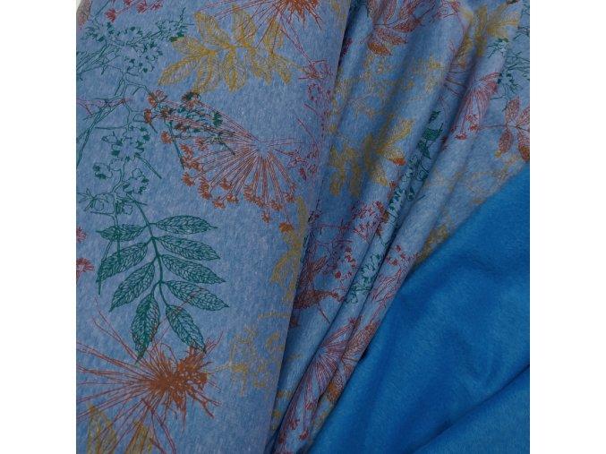 Warmkeeper - Flora, modrá