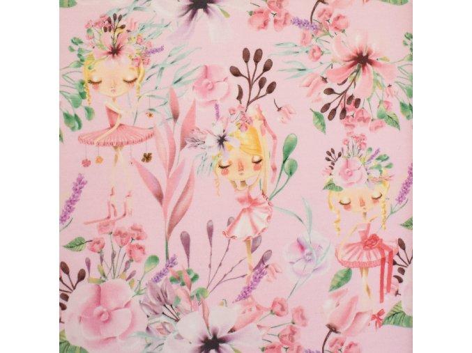 1407 Teplákovina Víly na růžové