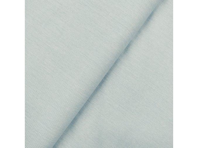 Plátno - Modré proužky