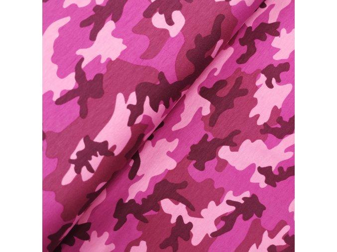 Úplet - Maskáč, růžová