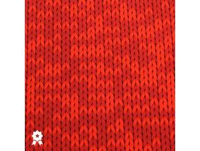 571 Červená pletenina