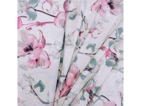 Umělé hedvábí | Silky - Magnolie