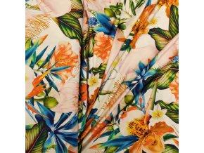 Venecia úplet - Exotické květy