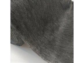Vlizelín zažehlovací s osnovou 40g/m2 - černý