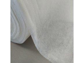 Vlizelín zažehlovací s osnovou 40g/m2 - bílá