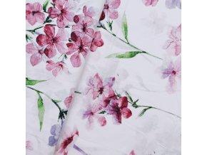 Plátno - Olověnec, fialová š. 160