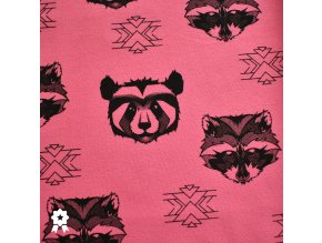 911 Panda&Mýval na růžové