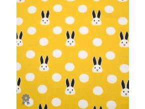 915 Puntík s králíčkem, žlutá