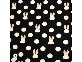 914 Puntík s králíčkem, černá