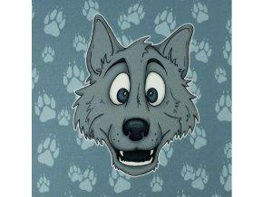 971 štastný vlk