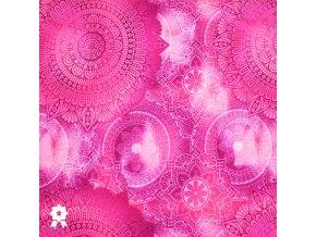 970 Bláznivé ornamenty růžová