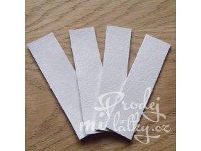 bílá obdelník
