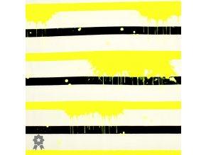 1005 Neonové, žluté pruhy