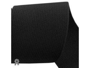 517 pruženka prádlová hladká černá šíře 5cm
