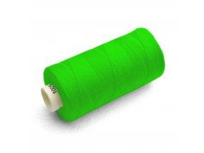 Nit Hagal UNIPOLY 120 - Neonová ostrá zeleň 613