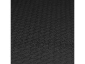 cihličky teplákovina černá 1