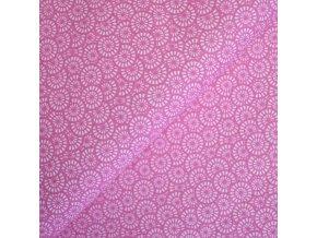 1252 plátno Růžová paraplíčka