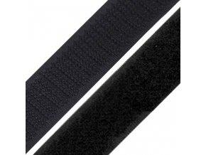 1311 Suchý zip 25mm, černý