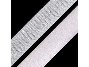 1313 Suchý zip 25mm, bílý