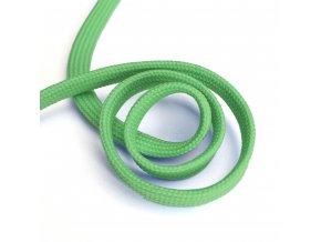 1129 Oděvní šňůra plochá, 10mm zelená