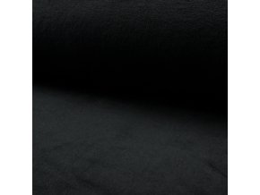 1526 Corel fleece Wellsoft Černá