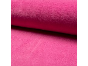 1550 Corel fleece Wellsoft Fuchsiová