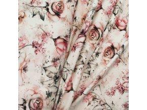 Teplákovina - Růže