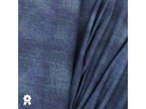 1478 Teplákovina Jeans, tmavě modrá