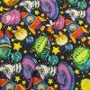 Zimní softshell - Příšerky ve vesmíru