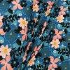 1737 Teplákovina Květy na modré