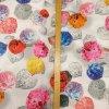 Umělé hedvábí | Silky - Barevné lístečky