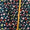 Venecia úplet - Květy na tmavě modré