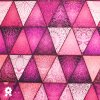 968 Bláznivé trojúhelníky růžové