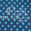 404 hvězdy na melánž modré