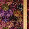 1363 Úplet Fialovo růžové ornamenty 2