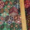 1362 Úplet Zeleno růžové ornamenty 2