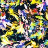 Silky - Květy na modré