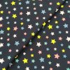 Zimní softshell - Hvězdičky na tmavě modré