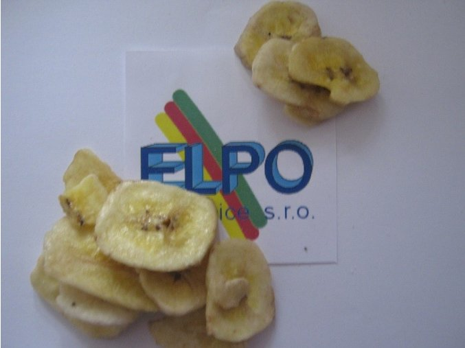 Banán plátky