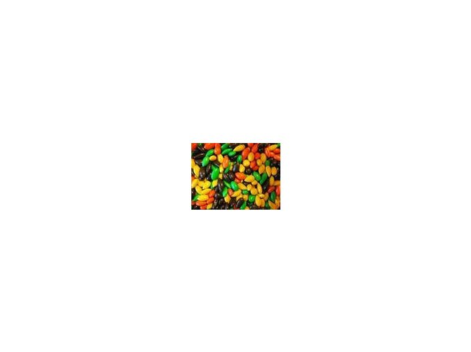Slunečnice v barevné čokoládě 80g