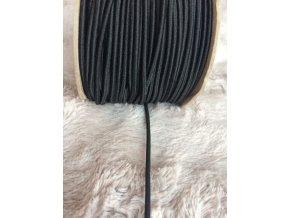 Pruženka kulatá 2 mm, černá