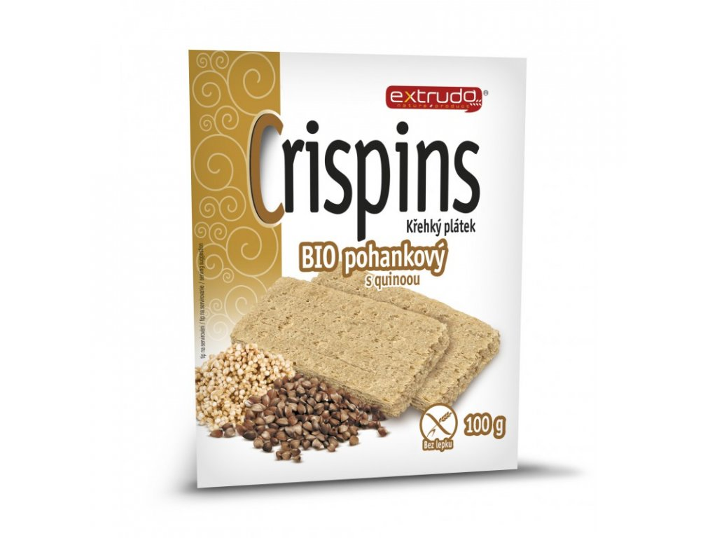 crispins krehky platek bio pohankovy s quinoou