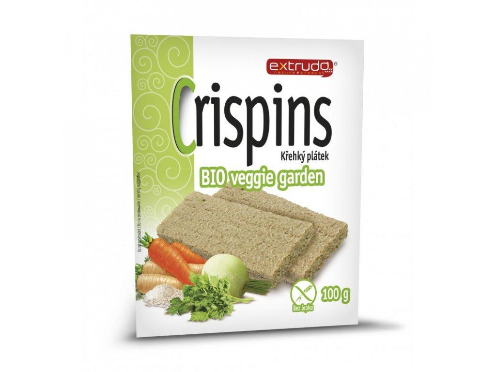 crispins krehky platek bio veggie garden